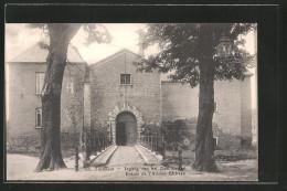 AK Turnhout, Ingang Van Het Oud Kasteel, Entrée De L'ancien Château - Turnhout