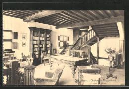 AK Ranst, Chateau De Doggenhout, Salon De Lecture - Ranst
