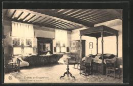 CPA Ranst, Château De Doggenhout, Grande Chambre à Coucher - Ranst