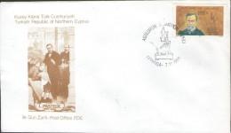 CYPRUS-Turkish Cypriot Posts 1996 Pasteur Medicine Health FDC - Louis Pasteur