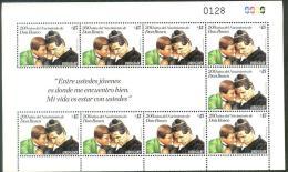 DON BOSCO Salesian 200 Aniversary Uruguay MNH Stamps Sheet Salesianos Giovanni Bosco St. John Bosco Childhood Education - Uruguay