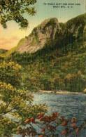B48 / CPA EAGLE CLIFF AND ECHO LAKE - WHITE MTS - NH NEUVE VOIR DOS - White Mountains