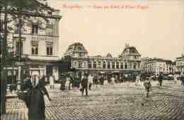Bruxelles - Gare Du Nord Et Place Rogier - Zonder Classificatie