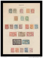 Mise A Prix  1 Euro France - Collection De Timbres Semi Modernes - 1900-1940  -cote 1500 Euros (43) - Sammlungen