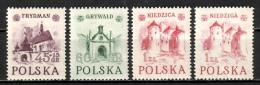 Poland 1952, MiNr 767-769 I+II NIEDZIGA MNH ** - 1944-.... République
