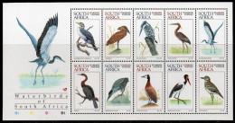 Afrique Du Sud - 947a/56a ** Oiseaux Aquatiques (waterbirds Of South Africa) - South Africa (1961-...)