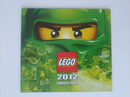 LEGO CATALOGUE BOOKLET - 2012 JANUARY - JUNE - Catalogs