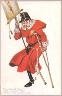 GUERRE 1914 CARICATURE ITALIE ANTI AUTRICHE FRANCOIS JOSEPH ECLOPE KRIEG VATERLANSLIEBE PROPAGANDA - Oorlog 1914-18