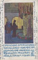 Carte  ITALIE  Exposition  Internationale  De  TORINO  1911 - Italien