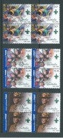 Australia 2008 Boy Scout Anniversary Set 3 In Blocks Of 4 FU Melbourne CTO - Used Stamps