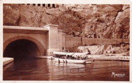 France Very Old Postcard - Marseille - Entree Du Tunnel Du Rove Entrance Of The Rove Tunnel - Mailed 1930 - L'Estaque