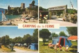 LA NAPOULE  CAMPING DE LA FERME COULEURS  4 VUES - Frankreich
