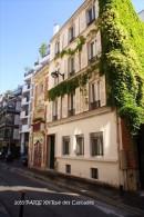 PARIS XX (75)- Rue Des Cascades  (EDITION à TIRAGE LIMITE) - Arrondissement: 20