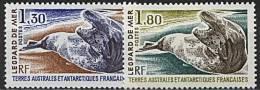 TAAF, N° 089 à N° 090** Y Et T, Léopard De Mer, 89 / 90 - Nuovi