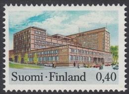 Finland 1973 Definitive Post Office In Tampere. Mi 718 MNH - Ongebruikt