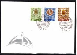 ESTONIA 125th Anniv Of Song Festivals 1994 FDC #1565 - Estonia