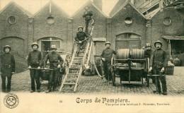 Verviers Corps Des Pompiers Fabrique Simonis Pompier - Verviers