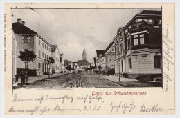 """1902, """" Gruss Aus Schwabmünchen """"  , #3453 - Deutschland"""