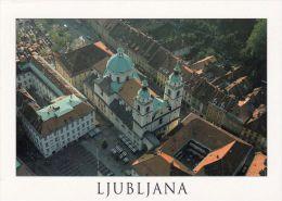 1 AK Slowenien * Blick Auf Die Kathedrale In Der Hauptstadt Ljubljana *