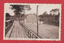 Mimizan La Forêt  --  Le Fronton Et Les Tennis  --   Belle Oblitération - Mimizan