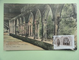 CARTE MAXIMUM CARD ABBAYE DE FLARAN GERS SUR CPA FRANCE - Abbeys & Monasteries