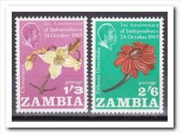 Zambia, Postfris MNH, Flowers - Zambia (1965-...)