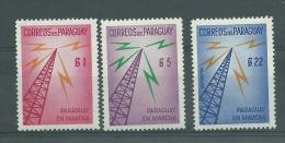 150022669  PARAGUAY  YVERT  AEREO Nº  272 + Nº 595/7  MH/MNH - Paraguay