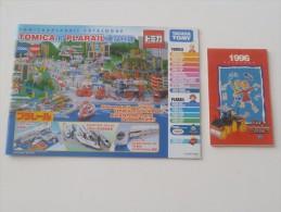 2006 TOMICA PLARAIL + 1996 JOAL COMPACT Booklet Catalogue - Autres Collections