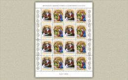 Hungary 1995. Saint Elisabeth Complete Sheet MNH (**) Michel: 4364 Klb. / 6 EUR - Hongarije