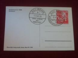 AK Eröffnung Des Ersten Deutschen Bundestages 20 Pfennig 1949 Michel 112 Deutsche Post - [7] République Fédérale