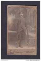 Photo Originale - Portrait Militaire Du 154 è Regiment D´ Infanterie ( Photo Delaunay St Saint Brieuc ) - Guerre, Militaire
