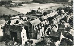 CPSM 95 BOISSY L AILLERIE L EGLISE  EN AVION AU DESSUS DE ... 1958 - Boissy-l'Aillerie