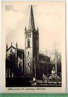 Gleiwitz Os, Evang. KircheFOTO; Maße  : 10,7 X7,5  CmFoto-Reinisch, Viernheim/Hessen Zustand: Sehr Gut - Schlesien