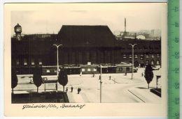 Gleiwitz Os, BahnhofFOTO; Maße  : 10,7 X7,5  CmFoto-Reinisch, Viernheim/Hessen Zustand: Sehr Gut - Schlesien
