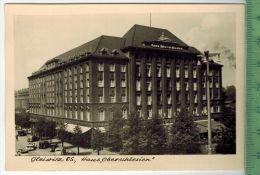 Gleiwitz Os, Haus, OberschlesienFOTO; Maße  : 10,7 X7,5  CmFoto-Reinisch, Viernheim/Hessen Zustand: Sehr Gut - Schlesien