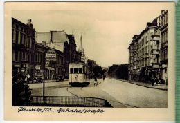 Gleiwitz Os, BahnhofstraßeFOTO; Maße  : 10,7 X7,5  CmFoto-Reinisch, Viernheim/Hessen Zustand: Sehr Gut - Schlesien