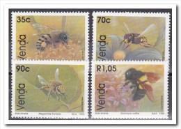 Venda 1992, Postfris MNH, Flowers, Bees - Venda