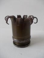 Guerre 1914.1918 - Artisanat de tranch�es - Douille travaill�e -