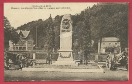 Comblain-la-Tour - Monument Aux Soldats De La Grande Guerre - Canons De Chaque Côté Du Monument ( Voir Verso ) - Hamoir