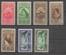 Regno Colonie Emissioni Generali 1933 - Giuseppe Garibaldi Posta Aerea MH * Con Difetti - Emissioni Generali