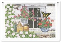 Gabon, Postfris MNH, Flowers, Butterflies - Gabon (1960-...)
