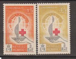 NOUVELLES HEBRIDES    1963                    N°   199 / 200           COTE     7 € 60           ( Y 528 ) - Neufs