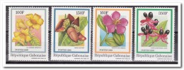 Gabon 1986, Postfris MNH, Flowers - Gabon (1960-...)
