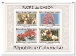 Gabon 1991, Postfris MNH, Flowers - Gabon (1960-...)