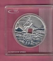 POLEN 10 ZLOTYCH 2008  AG PROOF OLYMPICS BEIJING WINDSURFER - Pologne