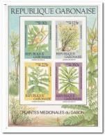 Gabon 1988, Postfris MNH, Medical Plants - Gabon (1960-...)