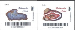 Biber Post  2 Mkn Böhmischer Achat 0,45-0,45 Glatt Langer UPOC A903 - Privées & Locales
