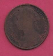 UK, 1893, 1 Penny, Victoria, KM 790, C2798 - 1816-1901 : 19th C. Minting