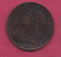 UK, 1898, 1 Penny, Victoria, KM 790, C2799 - D. 1 Penny