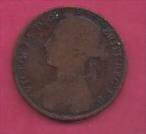 UK, 1893, 1 Penny, Victoria, KM 790, C2797 - D. 1 Penny